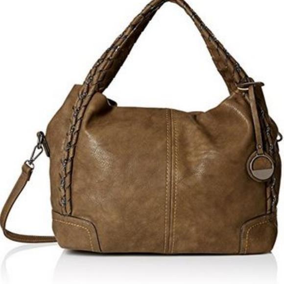 mg collection Handbags - MG Collection Slouchy Woven Handle Bag